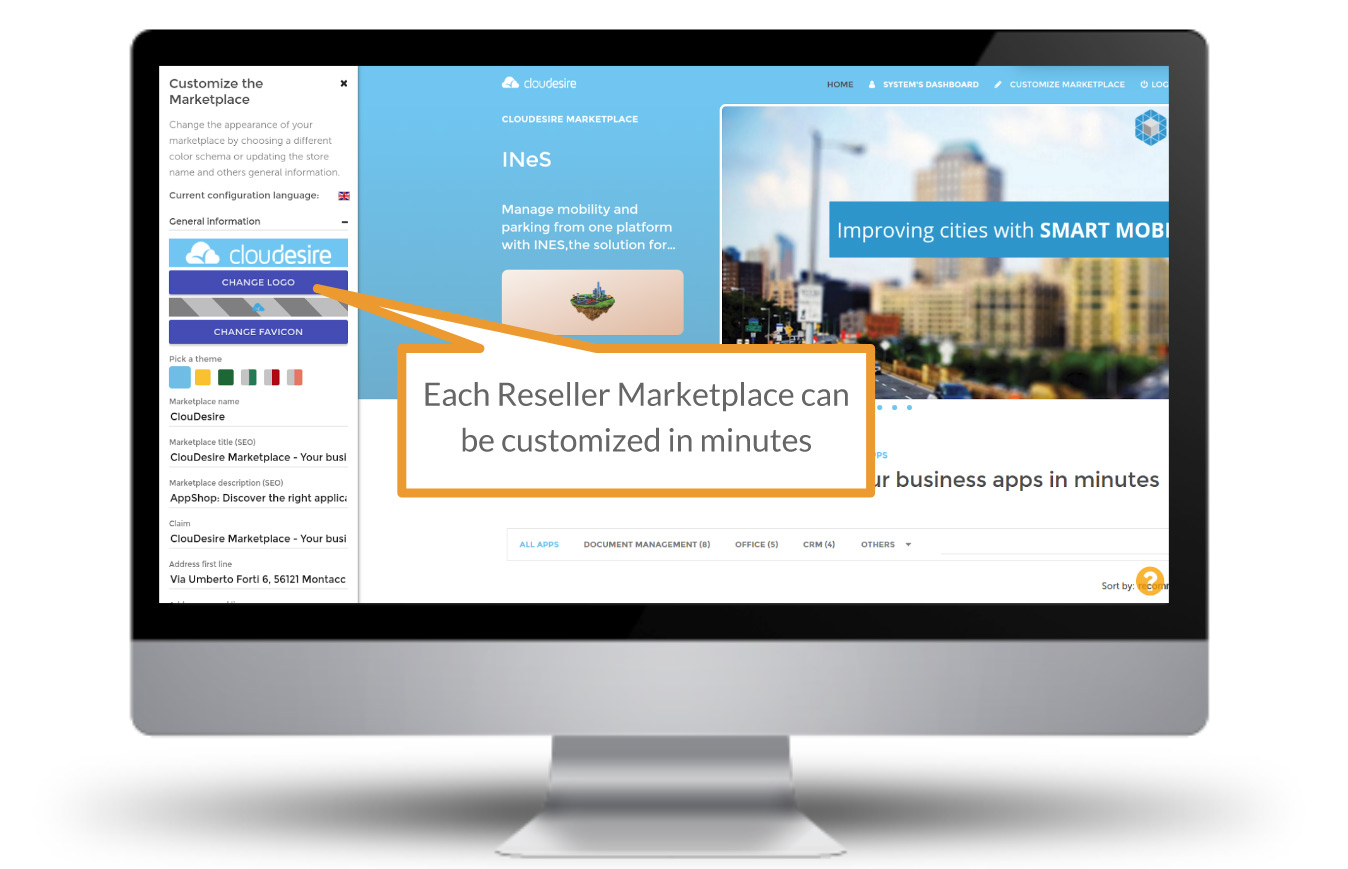 reseller auto-generated marketplace